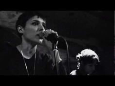 Savages LIVE - Pop Noire night @ The Shacklewell Arms, London - City's Full [HD]. They are focused.