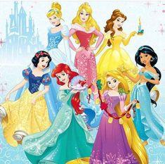 Disney Princess Characters, Disney Princesses And Princes, Disney Princess Pictures, Disney Princess Party, Disney Pictures, Disney Girls, Disney Art, Princess Birthday Party Decorations, Disney Presents
