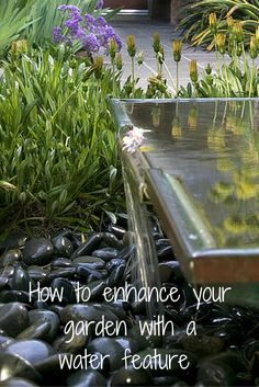 Installing a water feature can give your garden a whole new dimension and really enhance your enjoyment of your outdoor space; here's how to get it right.