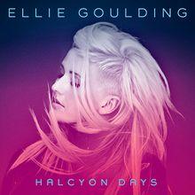 #elliegoulding #coverart #sound #music #album #halcyondays