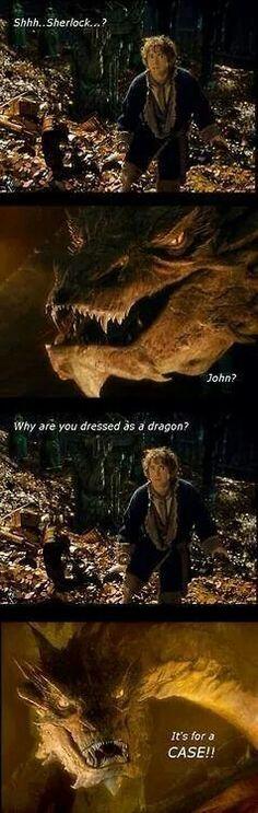 """Me encanta que Jackson haya puesto a Ben y a Martin a trabajar juntos en El Hobbit: La desolación de Smaug, ya que ellos actuan en la serie de la BBC """"Sherlock"""""""
