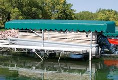 Boat Lift Canopy Systems For Vertical Boat Lifts Docks