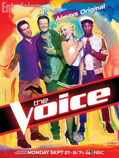 Gwen Stefani for The Voice promo