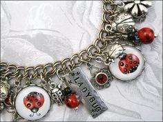 Ladybug charm bracelet <3