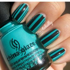 cool nails!!!lovem