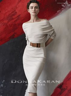 Andreea Diaconu By Peter Lindbergh For Donna Karan Spring / Summer 2015 | UniLi - Unique Lifestyle