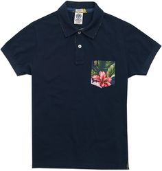 Men's slim fit piqué polo shirt