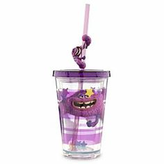 Disney Art Tumbler with Straw - Monsters University - Small   Disney StoreArt Tumbler with Straw - Monsters University - Small -  Show your team spirit with our Art tumbler. The lid twists tight for on-the-go thirst quenching.