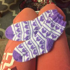 A personal favorite from my Etsy shop https://www.etsy.com/listing/486333506/kiras-little-knit-heart-socks-handmade