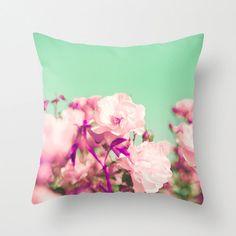 Pillow cover, purple pillow, turquoise pillow, mint pillow, pink pillow, nursery art, love pillow,nursery decor,pillows,radiant orchid on Etsy, $36.00