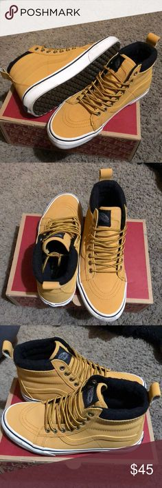 366a4610064354 Vans Sk8-HI MTE Honey Leather Brand New Condition