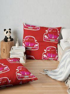 """""""Beetlebum"""" Floor Pillow by hoganartgarage Framed Prints, Canvas Prints, Art Market, Pillow Design, Softies, Floor Pillows, Art Boards, Buy Art, Duvet Covers"""