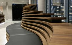 Hugo Boss - Reception Desk & Lounge: LIGANOVA