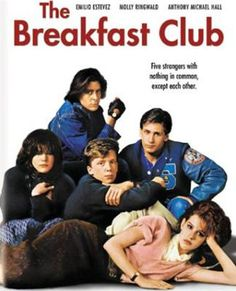 Some of my friends preferred 'Sixteen Candles' and others loved 'Pretty in Pink', but one of MY favorite John Hughes movies was always 'The Breakfast Club'...