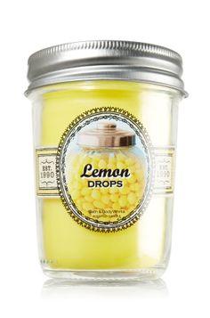 Lemon Drops Mason Jar Candle - Slatkin & Co. - Bath & Body Works