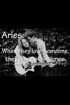 Aries, don't play games when it comes down to Loving someone. Aries Man Sagittarius Woman, Aries And Aquarius, Aquarius Love, Aries Astrology, Zodiac Signs Aries, Aries Horoscope, Pisces Facts, Horoscopes