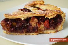 Making a Cake with Apples and Bananas   Baked Goods   Genius cook - Healthy Nutrition, Tasty Food, Simple Recipes