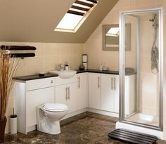 Greenwich White Smooth | Bathroom Cabinet Collection | Bathroom Cabinets | Howdens Joinery