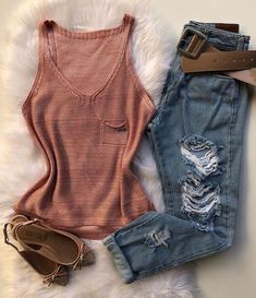 Cute Cheap Outfits, Pretty Outfits, Casual Outfits, Look Fashion, Fashion Outfits, Womens Fashion, Look Jean, Fashion Vocabulary, Everyday Outfits