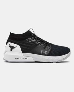 Men's UA Project Rock 2 Training Shoes, Black Top Basketball Shoes, Volleyball Shoes, Shoe Advertising, Training Underwear, Running Shops, Womens Training Shoes, Soccer Training, Sports Shops, Under Armour