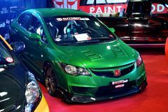 https://flic.kr/p/bNZP7k | Transport Show 2012 | Honda Civic FD Mugen Type R