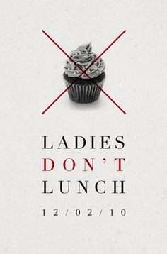 Graphic Design / Daniel Gray - Blog - Ladies Don't Lunch
