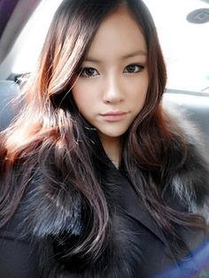 This is a Korean makeup look called Ulzzang. #beauty