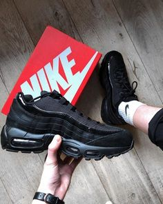 43290d2e76cb Nike Air Max 95 Black Black Wolf Grey Anthracite - Unisex Sports