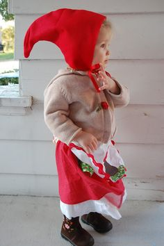 Adorable baby Garden Gnome costume