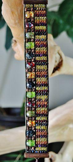 2 WAY  DIVVY  Hand-Loomed Women's Bracelet by BraceletsofBlueRidge