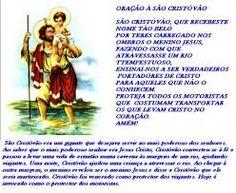 Oracão de São Cristovão
