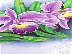 Sabor de Vida | Pintura de Orquídeas por Fátima Hespanholeto - 25 de Set...