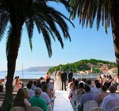 seaside terraces - wedding in Cavtat, my home town :-)