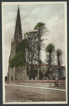 Bloxham Oxfordshire Near Banbury St. Marys Church c1940s RAP Printed Postcard | eBay