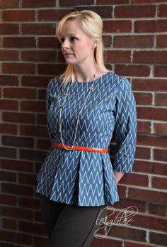 The Ladies Caroline Dress and Peplum PDF Pattern  Size 0-22 #rileyblakedesigns #idiechic #mymindseye