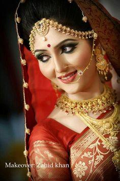 Zahid Khan make up in Bangladesh #Bengali bride