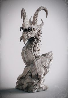 Dragon-beauty render, Zhelong XU on ArtStation at http://www.artstation.com/artwork/dragin-beauty-render