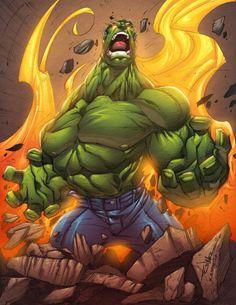 Hulk rage by *AlonsoEspinoza on deviantART