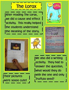 Several Dr. Seuss activities in this blog (have already downloaded activity sheets)
