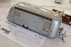 50's Airstream Trailer scratch built scale model.