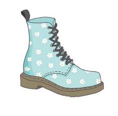 ¸.*♡*.¸You're Princess Material¸.*♡*.¸. ♡@HeyItsCatrina♡ xo Cool dr martins!! have these but black with flowers