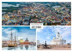 Helsinki – Finnland | Urlaubsgrüße | Echte Postkarten online versenden…