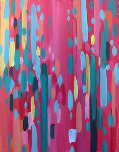 Sangria  Abstract Painting by pippinandpearl on Etsy, $300.00