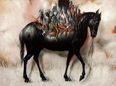 Oil paintings by Esao Andrews