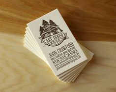 A Handful of New Letterpress Business Cards — the Parklife Blog