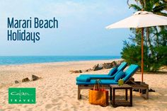 Unwind completely, with ease. Opt for Marari Beach Holidays.