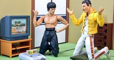 Take A Look On The Adventures Of Bruce Lee And Freddie Mercury