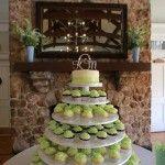 Wedding Wednesday: The Crowder Wedding Photo by Noah Magnifico Photography Cake: Sarah G. Designs