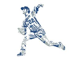 Clayton Kershaw Los Angeles Dodgers Pixel Art 30 Art Print by Joe Hamilton. All prints are professionally printed, packaged, and shipped within 3 - 4 business days. Corvette Summer, Joe Hamilton, Clayton Kershaw, Thing 1, Sports Art, Los Angeles Dodgers, Pixel Art, Fine Art America, Art Prints