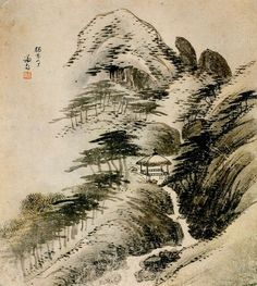 (Korea) 독락정, 장동8경 by Gyeomjae Jeong Seon (1676-1759). ca 18th century CE. color on paper.